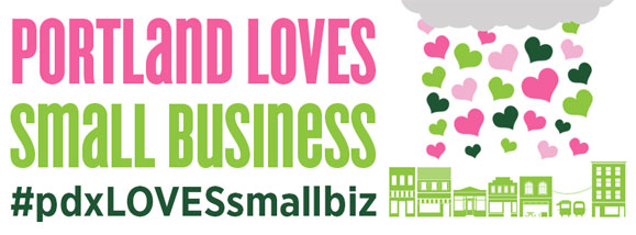 1fa63bd816a Love is in the air Portland! Neighborhood businesses show love for their  communities all year long. They provide more local jobs for our neighbors  and ...